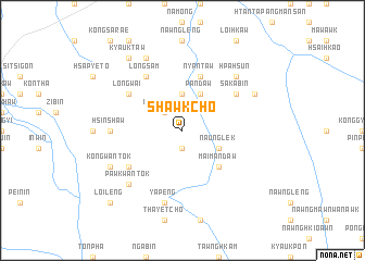 map of Shawk-cho