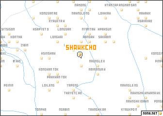 map of Shawk-cho