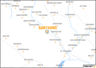 map of Shaykhān
