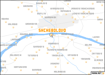 map of Shchebolovo