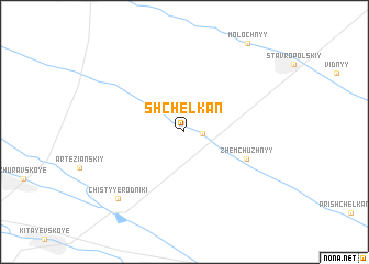 map of Shchelkan