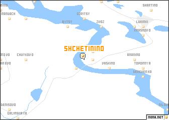 map of Shchetinino