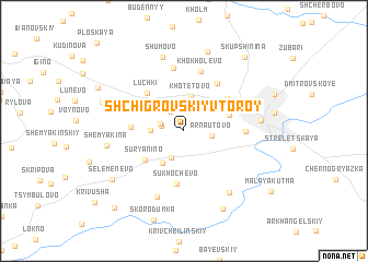 map of Shchigrovskiy Vtoroy