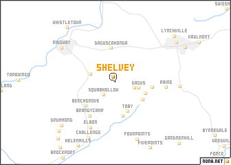map of Shelvey
