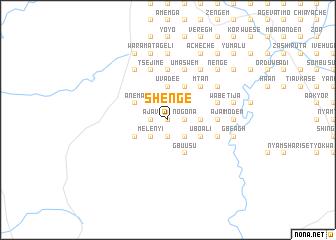 map of Shenge