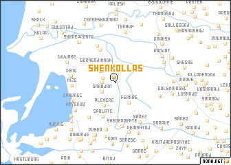 map of (( Shënkollas ))