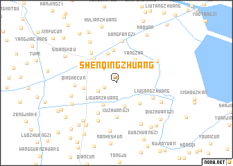 map of Shenqingzhuang