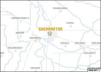 Shepparton Australia map nonanet