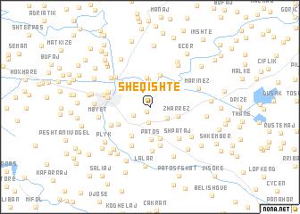 map of Sheqishtë