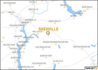 map of Shewville
