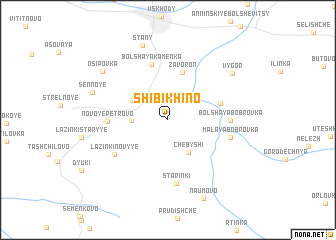 map of Shibikhino