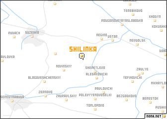 map of Shilinka