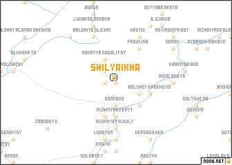 map of Shilyaikha