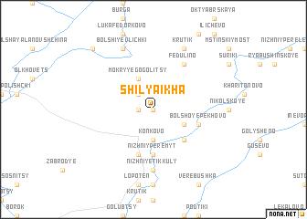 map of Shilyaikha