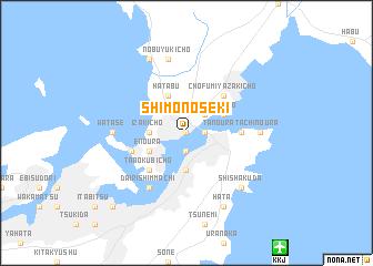 Shimonoseki Japan Map Nonanet - Japan map hd