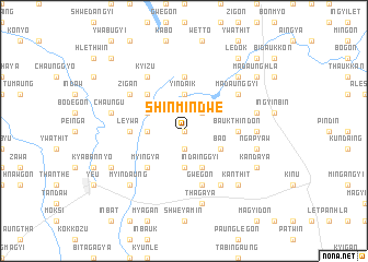 map of Shinmindwe