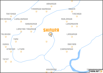 map of Shinu Ra