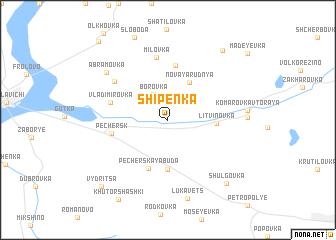 map of Shipenka