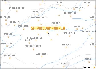 map of Shipikova Makhala