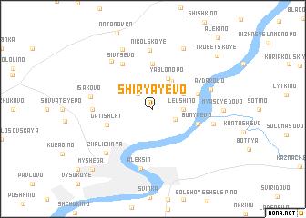 map of Shiryayevo