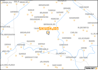 map of ShīwahJan
