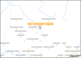 map of Shiyem Gahtawng