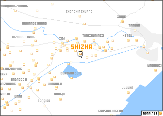 map of Shizha