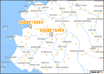 map of Shobeysheh
