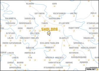 map of Sholora