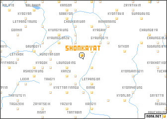 map of Shonkayat