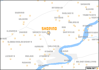 map of Shopino