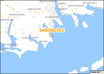 map of Shore Acres