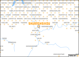 map of Shuang-hsi-k\
