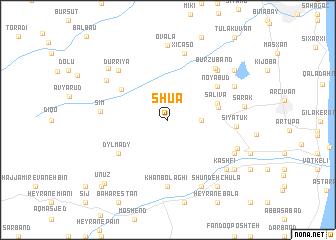 map of Shua