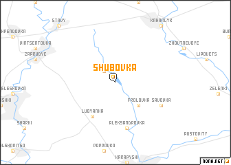 map of Shubovka