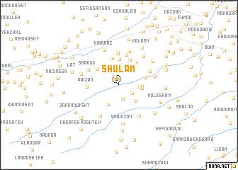 map of Shūlam