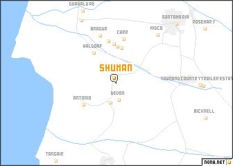 map of Shuman