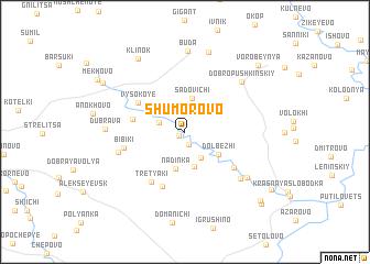 map of Shumorovo