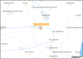 map of Shumovka