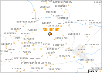 map of Shumovo
