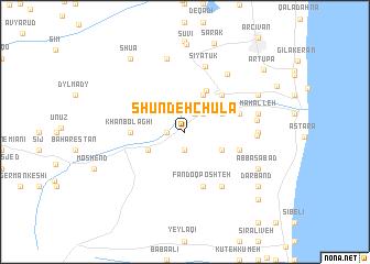 map of Shūndeh Chūlā