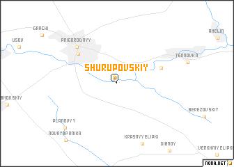 map of Shurupovskiy