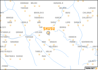 map of Shusu
