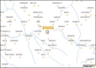 map of Shusu