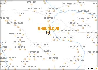 map of Shuvalovo