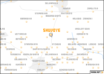 map of Shuvoye