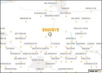 map of Shuvoye