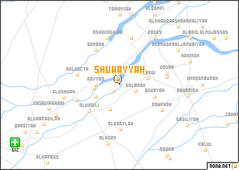 map of Shuwayyah
