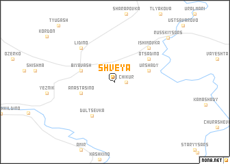 map of Shveya