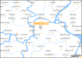 map of Shwebozu